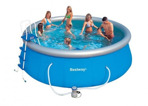 piscinas bestway fast set piscinas desmontables