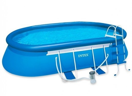 Piscinas Intex Oval Frame