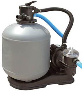 Tipos de filtración - Filtro de arena