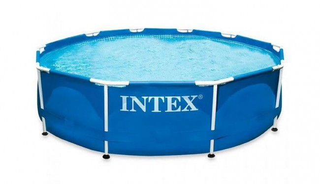 Piscinas de plastico Intex Metal Frame