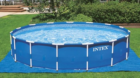 Piscina Intex Metal Frame Redonda