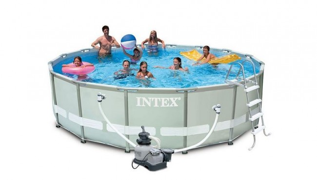 Piscina Intex Ultra Frame Redonda