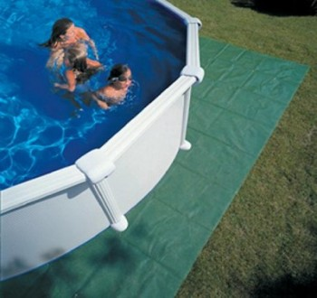 Suelo para piscina desmontable materiales de for Protector para piscina