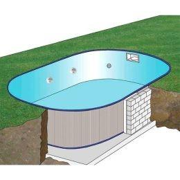 Como enterrar una piscina desmontable
