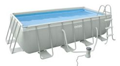 Piscina Intex Rectangular Ultra Frame